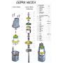 Корпус для вибрационного насоса Ручеек-1 (низ, электропривод)